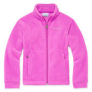 Columbia® 3 Lakes Fleece Jacket - Toddler Girls 2t-5t