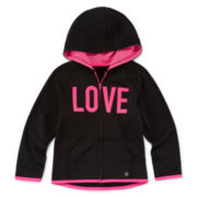 Xersion™ X Tech Zip-Up Hoodie - Preschool Girls 4-6x