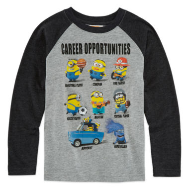 jcpenney.com | Despicable Me Minion Long-Sleeve Raglan Tee - Preschool Boys 4-7