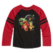 Angry Birds Long-Sleeve Raglan Tee - Preschool Boys 4-7