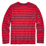 Arizona Long-Sleeve Striped Shirt - Boys 8-20 and Husky