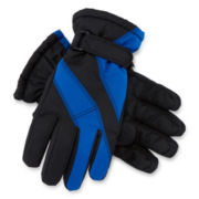 Colorblock Ski Gloves - Boys 8-20