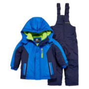 Weatherproof 2-pc. Long-Sleeve Snowsuit - Preschool Boys 4-7