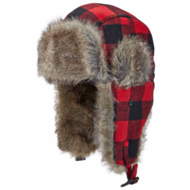 jcpenney.com | Woolrich Plaid Trapper Hat