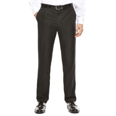 jcpenney.com | JF J. Ferrar® Slim-Fit Black Box Check Flat-Front Suit Pants