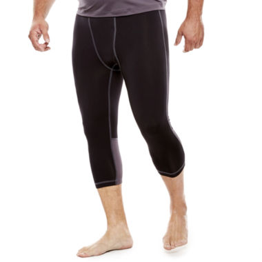 jcpenney.com | The Foundry Supply Co.™ 3/4-Length Compression Pants - Big & Tall