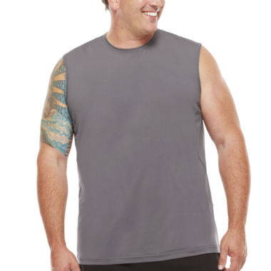 jcpenney.com | The Foundry Supply Co.™ Sleeveless Compression Muscle Shirt - Big & Tall
