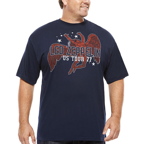 Led Zeppelin US Tour Short-Sleeve T-Shirt - Big & Tall