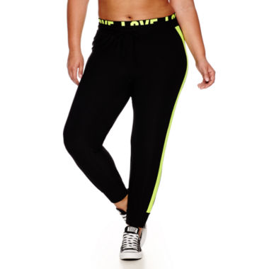 jcpenney.com | City Streets® Love Joggers - Juniors Plus