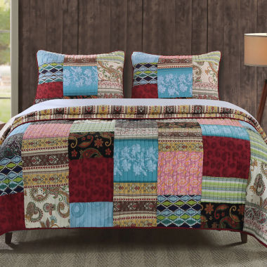 jcpenney.com | Greenland Home Fashions Bohemian Dream Quilt Set