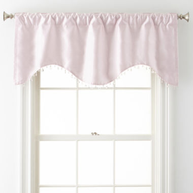 jcpenney.com | Home Expressions™ Jordyn Room-Darkening Rod-Pocket/Back Tab Scalloped Valance