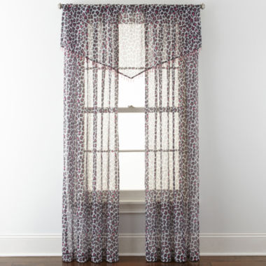 jcpenney.com | Home Expressions™ Purr Sheer Rod-Pocket Window Treatments