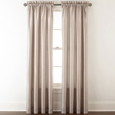 jcpenney.com | Royal Velvet® Plaza Thermal Interlined Rod-Pocket Curtain Panel