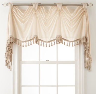 jcpenney.com | Royal Velvet® Plaza Thermal Interlined Rod-Pocket Victory Valance
