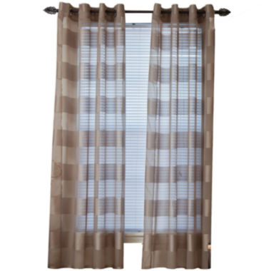 jcpenney.com | Sofia Grommet-Top Curtain Panel