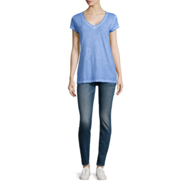 jcpenney.com | a.n.a® Short-Sleeve Essential Tee or Skinny Jeggings