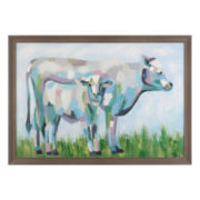 Mother and Child Framed Wall Art