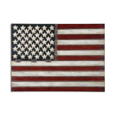 jcpenney.com | American Flag Metal Wall Decoration