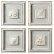 Set of 4 Matira Decoration