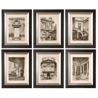 jcpenney.com | Set of 6 Paris Scenes Framed Wall Art
