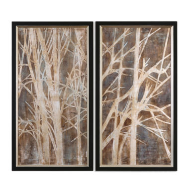 jcpenney.com | Set of 2 Twigs Framed Wall Art