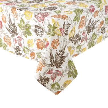 jcpenney.com | JCPenney Home™ Sprawling Leaves Tablecloth
