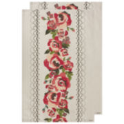 Ladelle® Ava Set of 2 Kitchen Towels