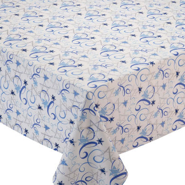 jcpenney.com | Design Imports Hanukkah Swirl Tablecloth