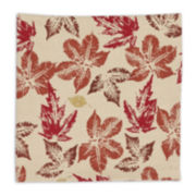Design Imports Rustic Leaves Set of 6 Napkins