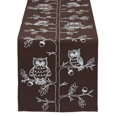 jcpenney.com | Design Imports Embroidered Owl Table Runner