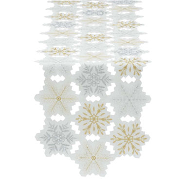 jcpenney.com | Design Imports Embroidered Snowflake Table Runner