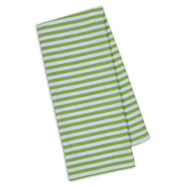 jcpenney.com | Design Imports Lime Stripe Set of 4 Kitchen Towels
