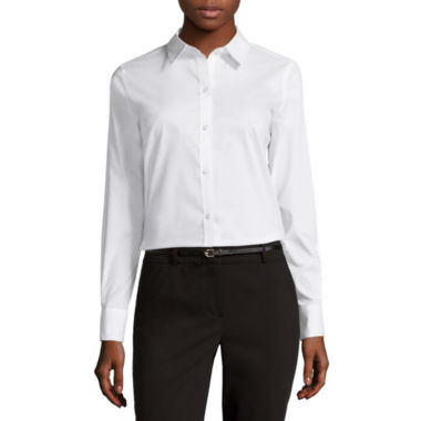jcpenney.com | Liz Claiborne® Long-Sleeve Wrinkle-Free Shirt