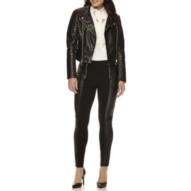 jcpenney.com | BisouBisou® Jacket, Ruffled Tie-Neck Top or Ponte Pants