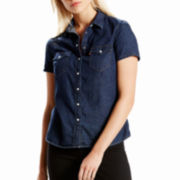 Levi's® Short-Sleeve Tailored Western Shirt