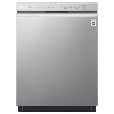 jcpenney.com | LG Front-Control Dishwasher with Stainless Interior