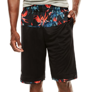 jcpenney.com | adidas® Team Speed Urban Jungle Print Shorts