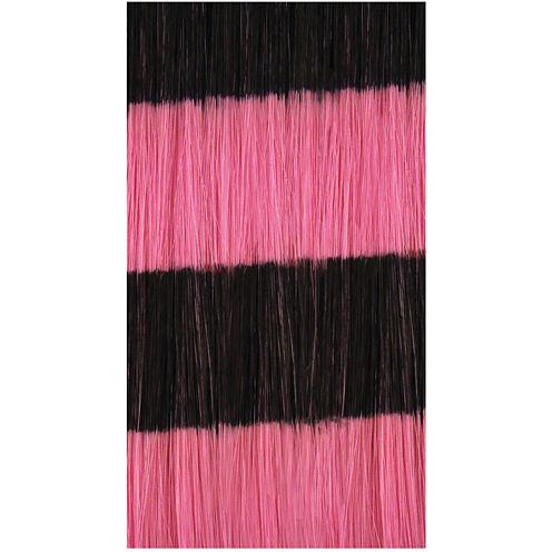HairUware Clip-in Bright Stripes Pink/Black