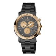 Drive from Citizen® Eco-Drive® Womens Black & Rose-Tone Chronograph Watch FB1348-50E