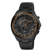 Drive from Citizen® Eco-Drive® Mens Gunmetal & Rose-Tone Chronograph Watch AT2187-51E