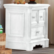 Ragazzi Pompei Night Table - Snowdrift
