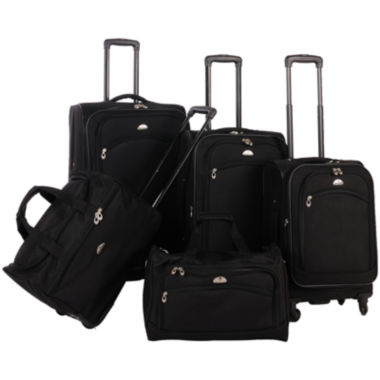 jcpenney.com | American Flyer Southwest 5-pc. Luggage Set
