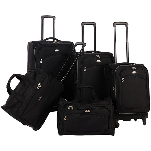 American Flyer Southwest 5-pc. Luggage Set