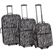 American Flyer Safari 3-pc. Luggage Set