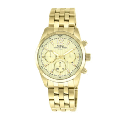 jcpenney.com | Armitron® All Sport® Mens Gold-Tone Stainless Steel Chronograph Watch