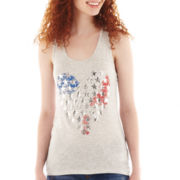 Star Heart Graphic Tank Top