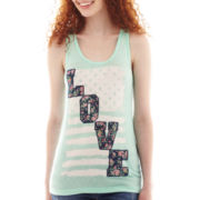 Love America Graphic Tank Top
