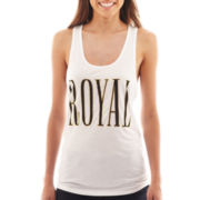 Fifth Sun Royal Graphic Tank Top