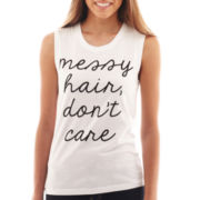 Fifth Sun Don't Care Graphic Tank Top