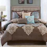 Madison Park Barnett 7-pc. Comforter Set